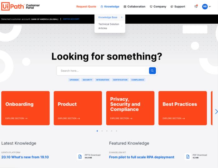 uipath-customer-portal-for-it-pro