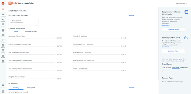 uipath automation suite public preview announcement 2021.9 release