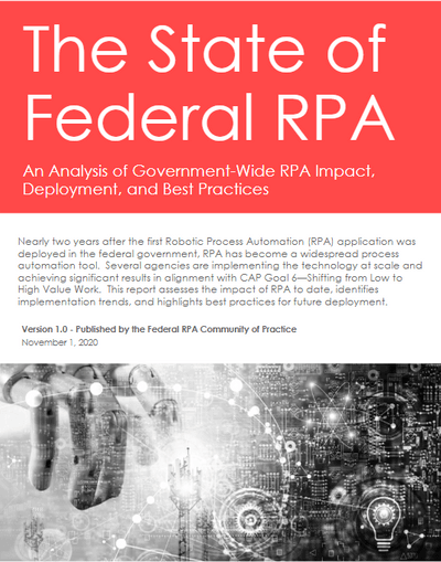 state of federal rpa 2020 report