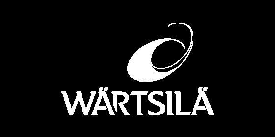 Wärtsilä white logo