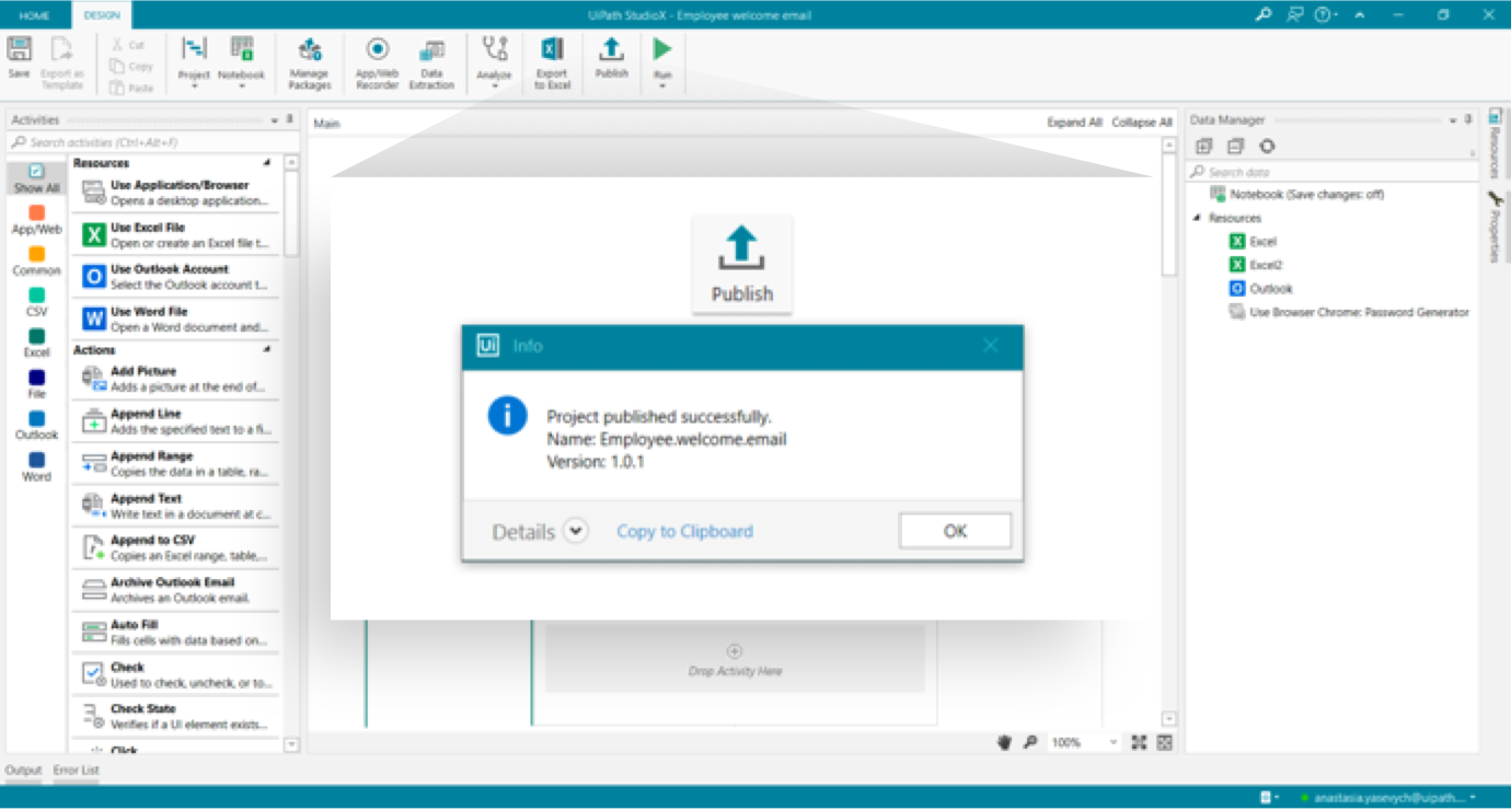 Enable citizen developers to manage and run their own automations