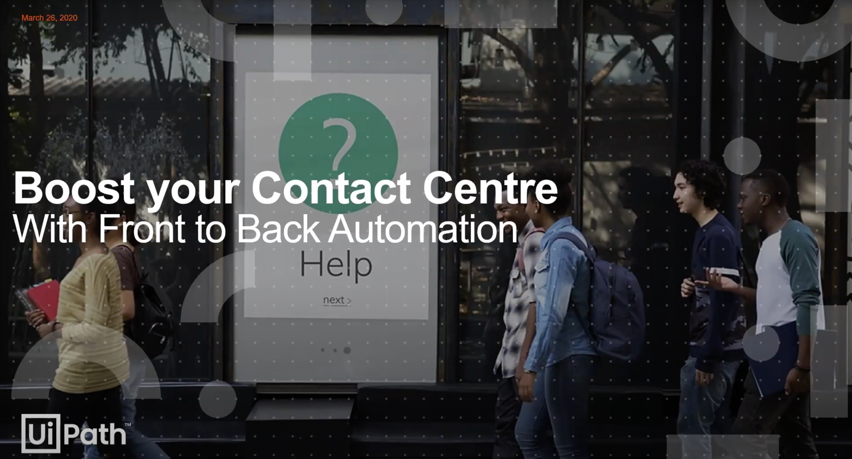 boost your contact center with front to back automation
