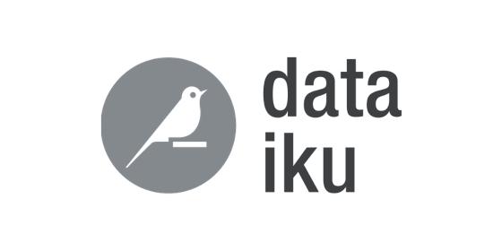 Data Iku logo grey