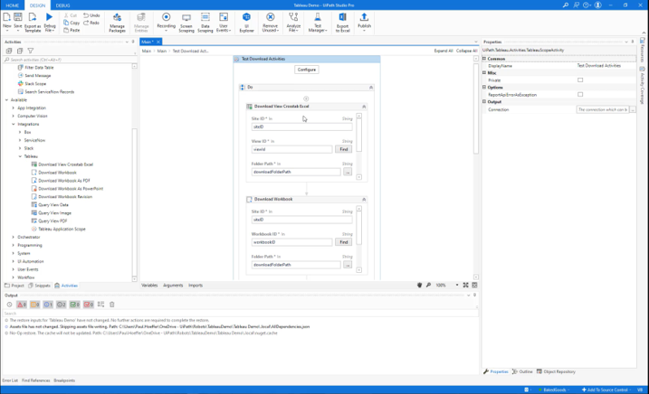 Build and run robots to automate workflows in and around Tableau