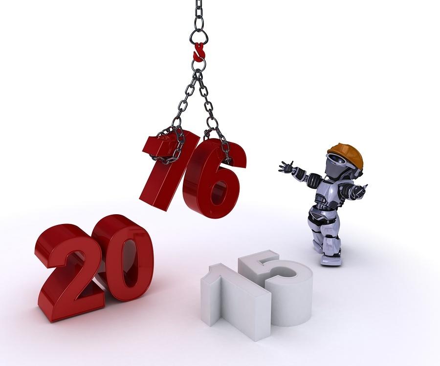 Robot delivering 2016
