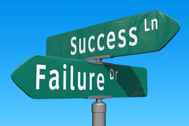 Failure Street Sign