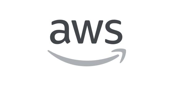 aws logo grey