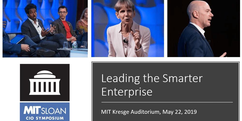 The 2021 MIT Sloan CIO Symposium