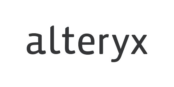 alteryx logo grey