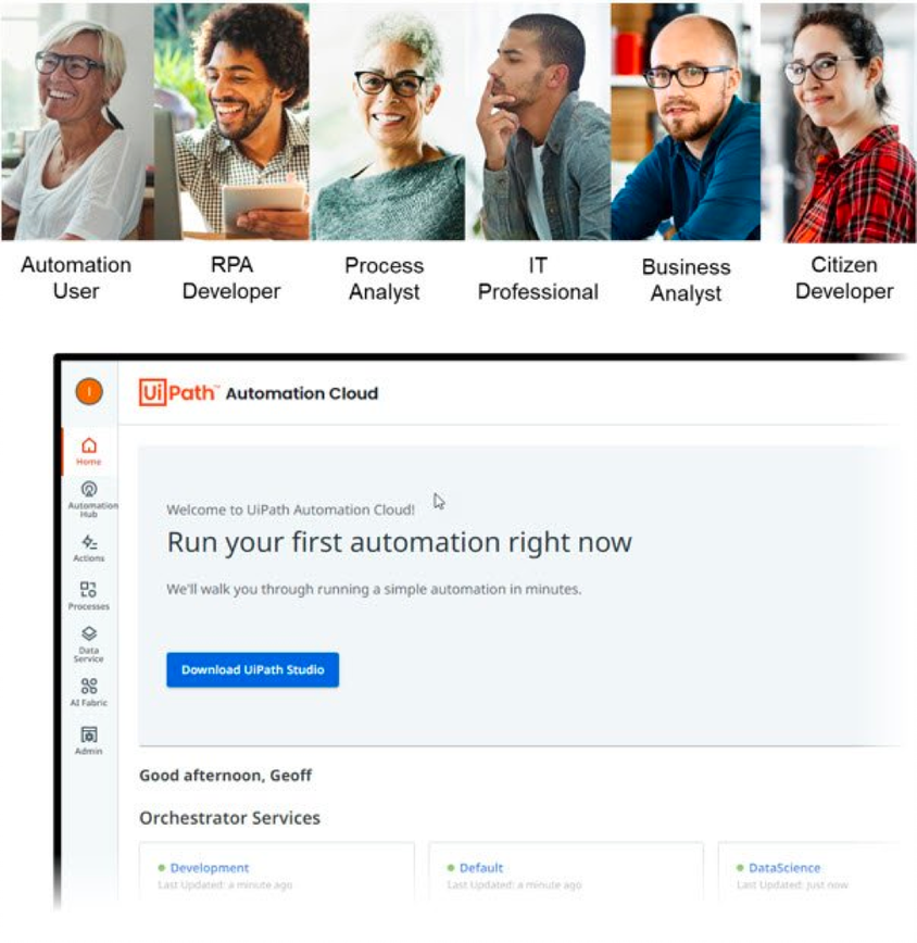 Automation Cloud services for everyone