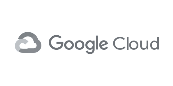Google Cloud logo grey