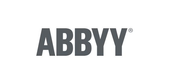 Abbyy logo grey