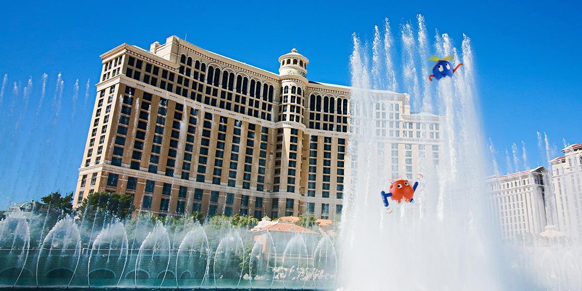 forward 2021 rpa conference bellagio fountains uipath robots