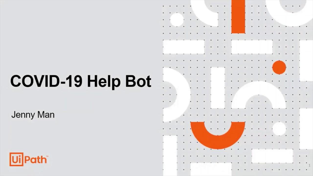 Software-Robot-Helping-People-Track-Coronavirus- -UiPath-Video-3