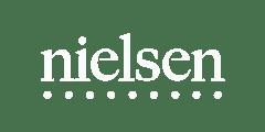 Nielsen logo white