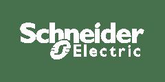 Schneider logo white