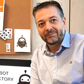 Javier Castellanos Head of Robot Factory Orange
