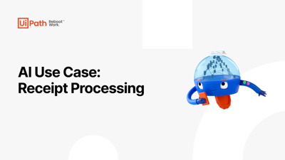 AI Use Case: Receipt Processing