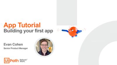 Build your first app today