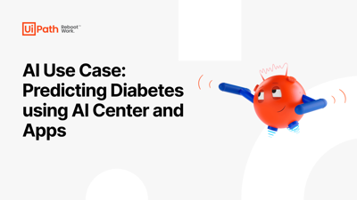 AI Use Case: Predicting Diabetes using AI Center and Apps