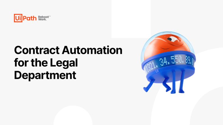 Contract Automation for the Legal Department