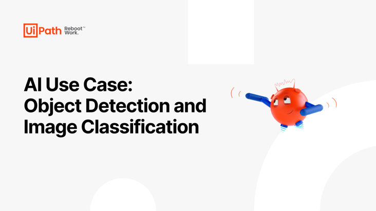 AI Use Case Object Detection and Image Classification