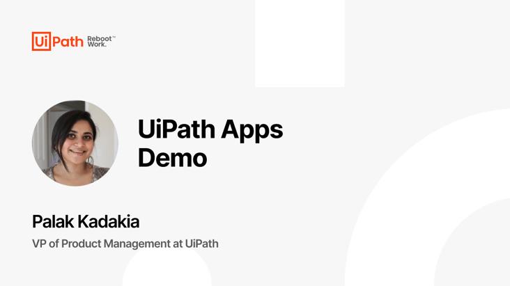 UiPath Apps Demo